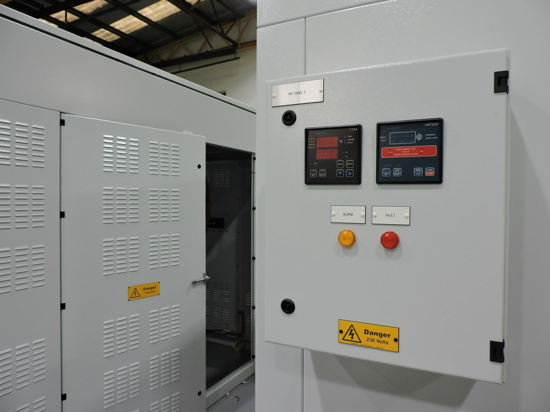 Transformer Housing – Burnell Switchgear & Control